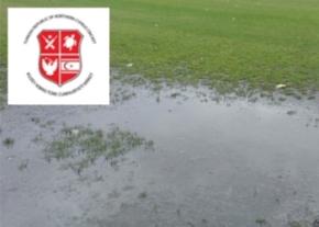 TRNC Cricket - Rain stopped play imaGE