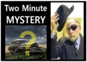 Two Minute Mystery No 39
