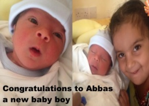 a new son for Abbas image