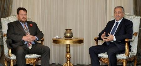 Alan Sweetman and Mustafa Akinci