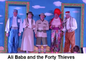 Ali Baba and the Fory Thieves image