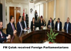 Colak received Foreign Parliamentarians image