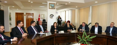 Colak received Foreign Parliamentarians