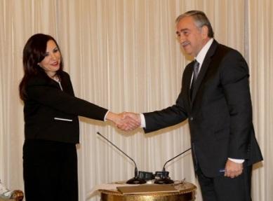 Emine Dizdarli and Mustafa Akinci