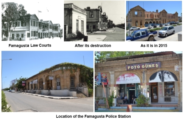 Famagust Law Courst and police station