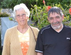 Hilde Zia and Ertan Ziya