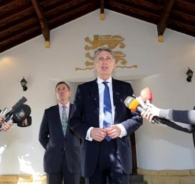 Philip Hammond in Cyprus