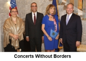 Recipients of the US State Department's Cultural Diplomacy Award image