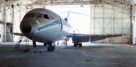 Trident in hangar 2