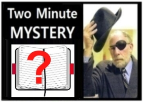 Two Minute Mystery No 46