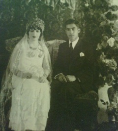 Yusuf and Nahide wedding in 1934
