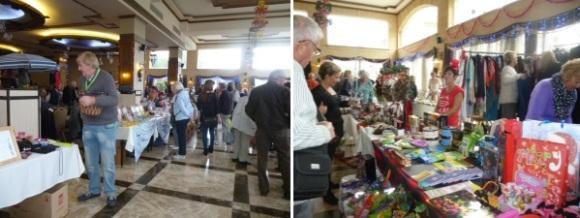 A busy bazaar