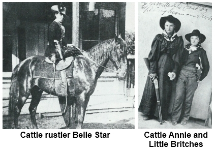 Belle Star Cattle Annie and Little Britches