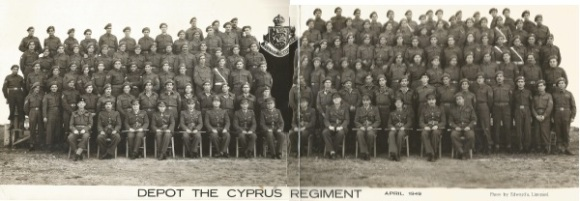 Depot The Cyprus Regiment April 1949