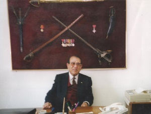 Faik Muftuzade at his office