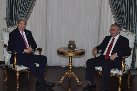 John Kerry and Mustafa Akinci