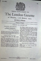 London Gazette 2