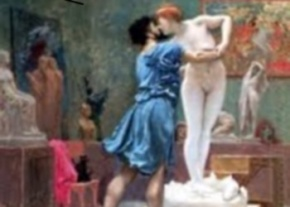 pygmalion and galatea by jean leon gerome image