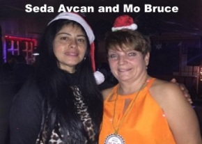 Seda Avcan and Mo Bruce image