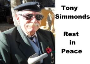 Tony Simmonds more recent photo image