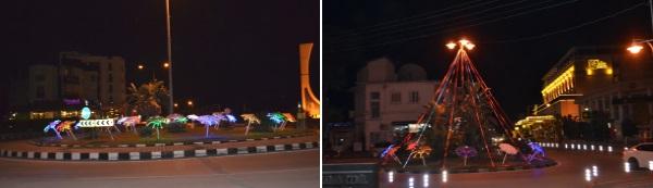 Traffic roundabouts