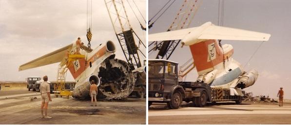 5B-DAE destroyed