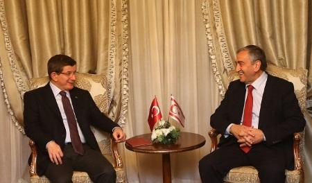 Ahmet Davutoglu and Mustafa Akinci