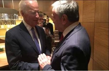 Akinci meets Joe Biden