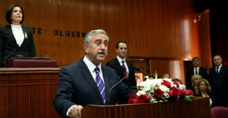 Akinci to inform TRNC Assembly