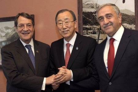 Ban meets Anastasiades and Akinci