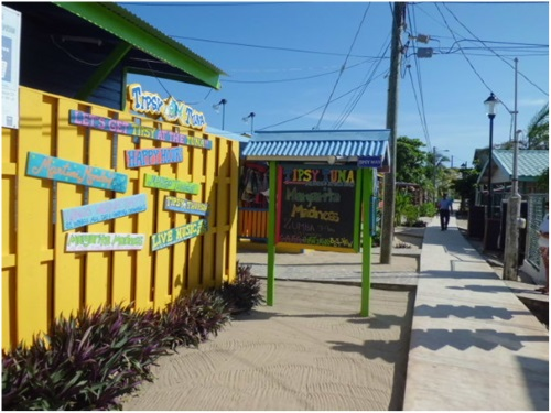 Boardwalk in Placencia Belize