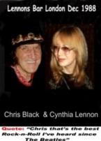 Chris and Cynthia Lennon