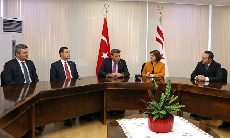 Colak received delegations of CHP