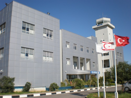 Control building Ercan Airport