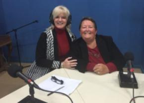 Demise Phillips and Kathy Martin image