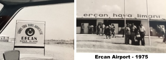 Ercan Airport 1975 - prefabricated terminal building