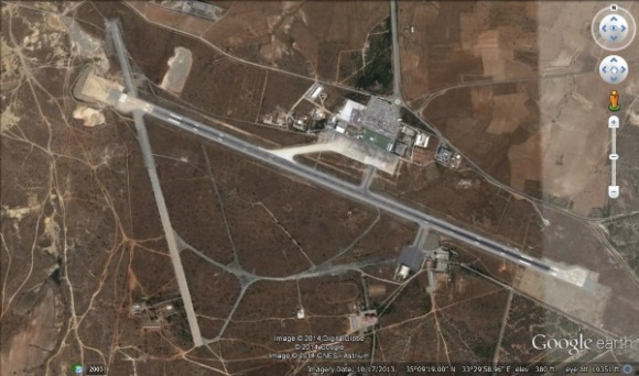 Ercan Airport courtesy of Google Earth