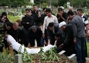 Muslim funeral image