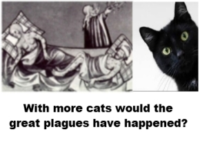 Plagues and cats image