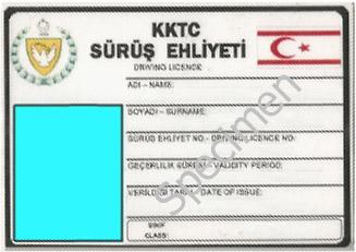 TRNC Driving Licence specimen