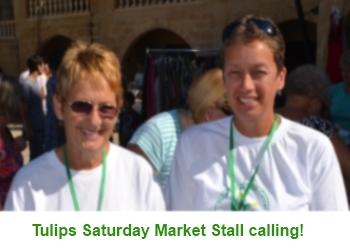 Tulips Saturday Stall calling