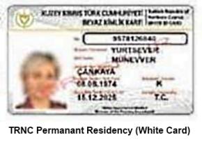 White card image