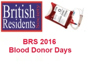 BRS 2016 Blood donor days