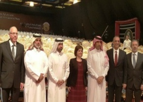 Emine Colak in Doha image