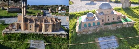 Selimiye Mosque Lefkosa and Hala Sultan Larnaca