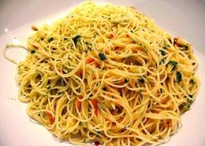 Spaghetti Alio e Olio