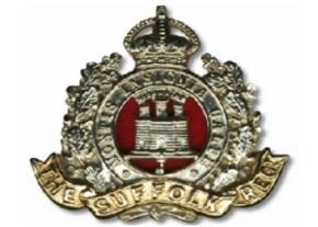 Suffolk Regt badge image
