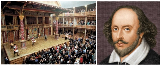 The Globe Theater and Willima Shakespear