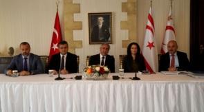 Akinci informs Trade Unions