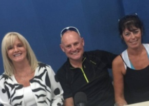 Denise Phillips Mike Phillips and Angela Fusco
